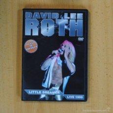Vídeos e DVD Musicais: DAVID LEE ROTH - LITTLE DREAMER LIVE 1999 - DVD. Lote 57168318
