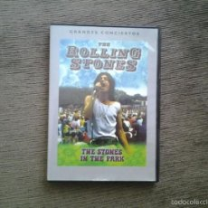 Vídeos y DVD Musicales: DVD THE ROLLING STONES --THE STONES IN THE PARK -- GRANDES CONCIERTOS -- HYDE PARK, LONDON 5/07/1969. Lote 57229950