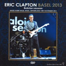 Vídeos y DVD Musicales: ERIC CLAPTON - BALOISE SESSION, BASEL, SWITZERLAND - NOVEMBER 13, 2013 (DVD). Lote 205849873