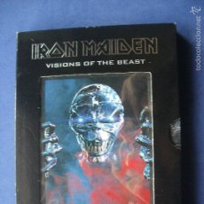 Vídeos y DVD Musicales: IRON MAIDEN VISIONS OF THE BEAST 2 DVD THE COMPLETE VIDEO COMO NUEVO¡¡¡. Lote 57334425