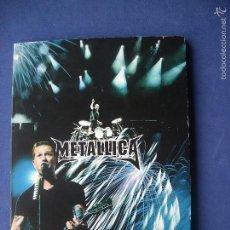Vídeos y DVD Musicales: METALLICA LISBOA FIRE WORKS DVD PARQUE DE BELA VISTA JUNIO 2004 DESCATALOGADO¡¡. Lote 57334594