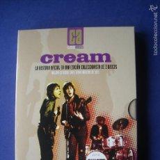 Vídeos y DVD Musicales: CREAM , LA HISTORIA OFICIAL EDICION COLECCIONISTA , CAJA 2 CD MAS LIBRETO - AÑO 2006 VER FOTOS NUE. Lote 57518685