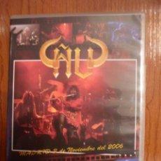 Vídeos y DVD Musicales: ÑU: DVD - MADRID 3 DE NOVIEMBRE DE 2006 *NUEVO Y PRECINTADO*. Lote 82091950