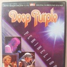Vídeos y DVD Musicales: DEEP PURPLE - PERIHELION - DVD. Lote 57661465