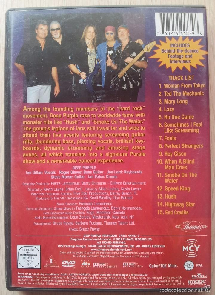 Vídeos y DVD Musicales: DEEP PURPLE - PERIHELION - DVD - Foto 2 - 57661465