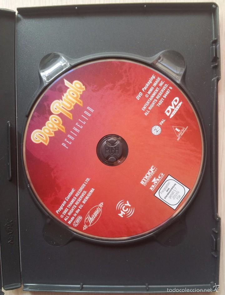 Vídeos y DVD Musicales: DEEP PURPLE - PERIHELION - DVD - Foto 3 - 57661465