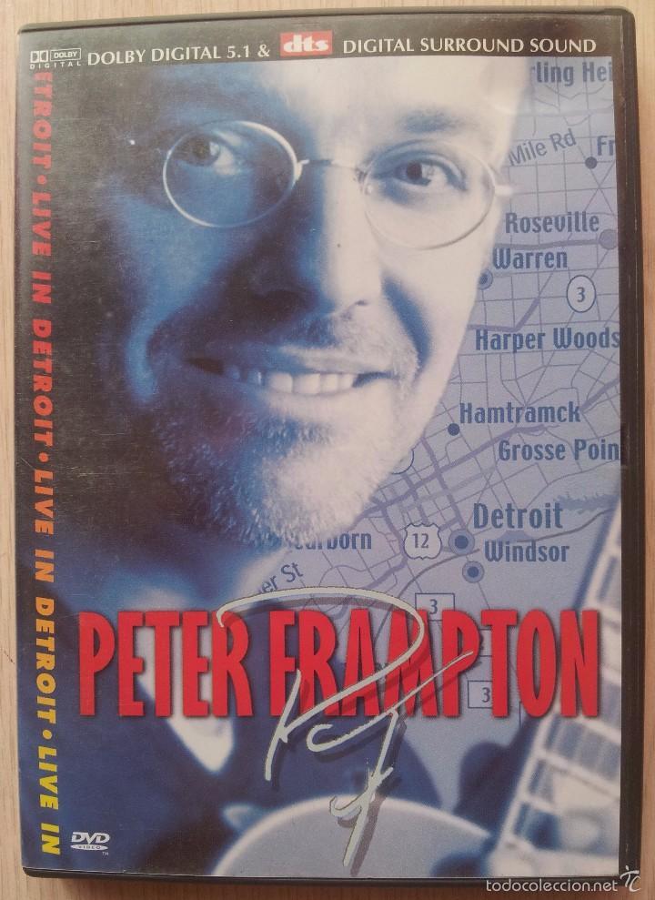 PETER FRAMPTON - LIVE IN DETROIT - DVD (Música - Videos y DVD Musicales)