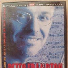 Vídeos y DVD Musicales: PETER FRAMPTON - LIVE IN DETROIT - DVD. Lote 57665260