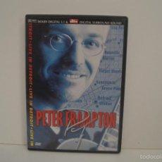 Vídeos y DVD Musicales: DVD - PETER FRAMPTON - LIVE IN DETROIT - 2000. Lote 57696642