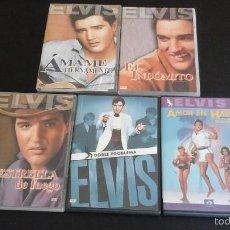 Vídeos y DVD Musicales: COLECCIÓN DE DVDS DE ELVIS PRESLEY. Lote 58020296