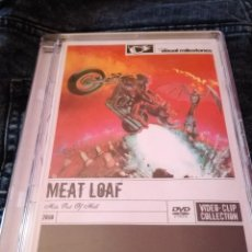 Vídeos y DVD Musicales: DVD MEAT LOAF HITS OUT OF HELL DVD VIDEOCLIPS COLLECTION. Lote 58182418