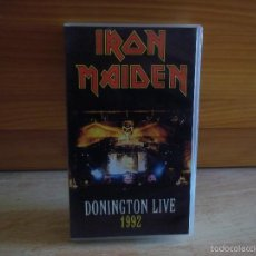 Vídeos y DVD Musicales: IRON MAIDEN DONINGTON LIVE 1992 VHS. Lote 58301788