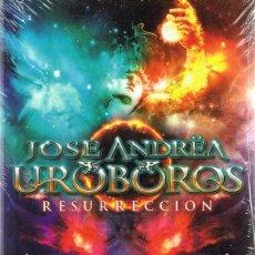 Vídeos y DVD Musicales: DVD JOSE UROBOROS ¨RESURRECCIÓN¨ (PRECINTADO). Lote 58362238