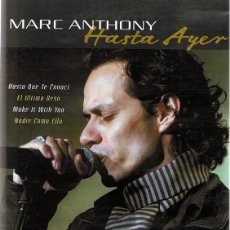 Video e DVD Musicali: DVD MARC ANTHONY ¨HASTA AYER¨. Lote 58362264
