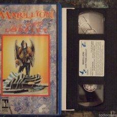 Vídeos y DVD Musicales: VHS - MARILION - LIVE FROM LORELEY - JULIAN CAIDAN - FILMAYER 1988. Lote 58382379