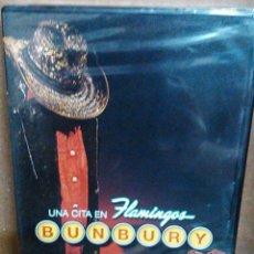 Vídeos e DVD Musicais: BUNBURY - UNA CITA EN FLAMINGOS - DVD NUEVO PRECINTADO. Lote 58413803