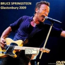 Vídeos e DVD Musicais: BRUCE SPRINGSTEEN – LIVE GLASTONBURY 2009 (DVD). Lote 58439518