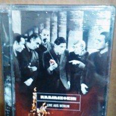 Vídeos y DVD Musicales: RAMMSTEIN - LIVE AUS BERLIN - DVD NUEVO PRECINTADO - EDICIÓN ESPECIAL. Lote 58506907