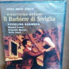 Vídeos y DVD Musicales: GIOACCHINO ROSSINI - II BARBIERE DI SIVIGLIA VESSELINA KASAROVA - DVD NUEVO PRECINTADO. Lote 58508627