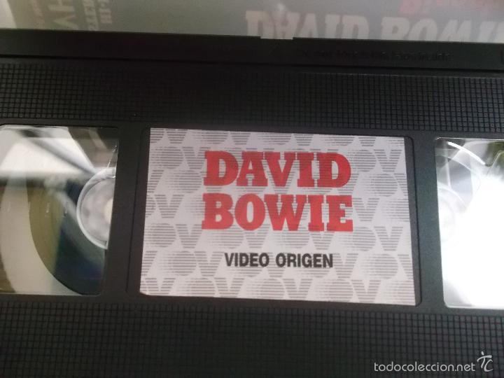 Vídeos y DVD Musicales: DAVID BOWIE - RICOCHET 1983, VHS - Foto 2 - 58655553