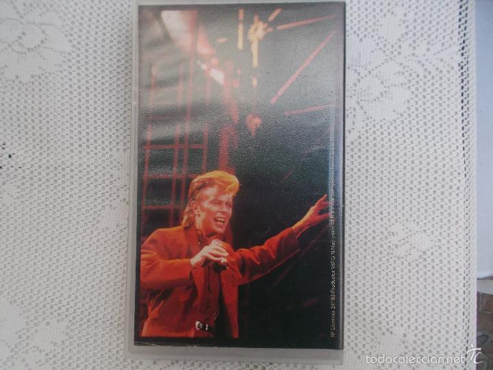 Vídeos y DVD Musicales: DAVID BOWIE - RICOCHET 1983, VHS - Foto 3 - 58655553