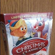 Vídeos y DVD Musicales: THE ORIGINAL CHRISTMAS CLASSICS. LIMITED EDITION. CD + 3 DVD DE MUY BUENA CALIDAD./ DIFÍCIL.. Lote 58683334