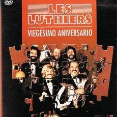 Vídeos y DVD Musicales: DVD LES LUTHIERS ¨VIEGÉSIMO ANIVERSARIO 1989¨. Lote 58766915