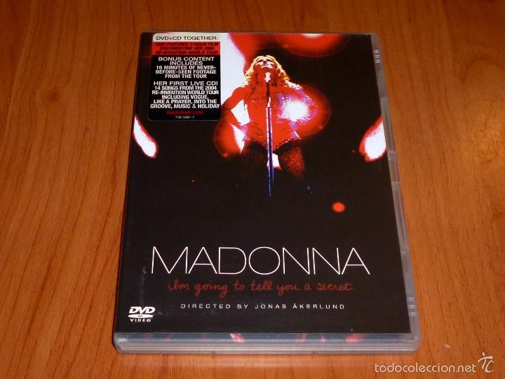 MADONNA / I´M GOING TO TELL YOU A SECRET / VOY A CONTARTE UN SECRETO + CD (Música - Videos y DVD Musicales)