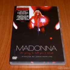 Vídeos y DVD Musicales: MADONNA / I´M GOING TO TELL YOU A SECRET / VOY A CONTARTE UN SECRETO + CD. Lote 58828041