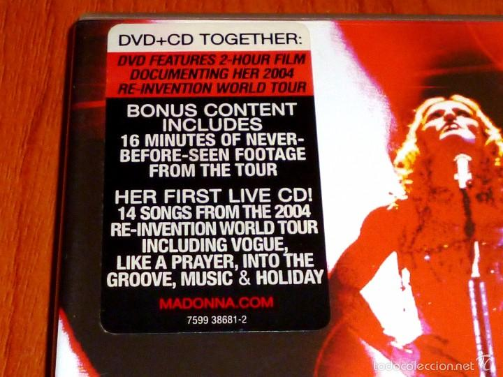 Vídeos y DVD Musicales: MADONNA / I´m going to tell you a secret / Voy a contarte un secreto + CD - Foto 2 - 58828041