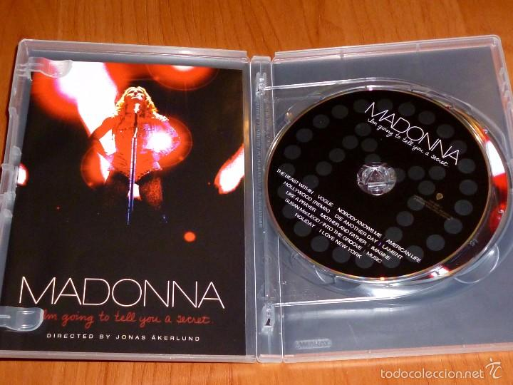 Vídeos y DVD Musicales: MADONNA / I´m going to tell you a secret / Voy a contarte un secreto + CD - Foto 3 - 58828041