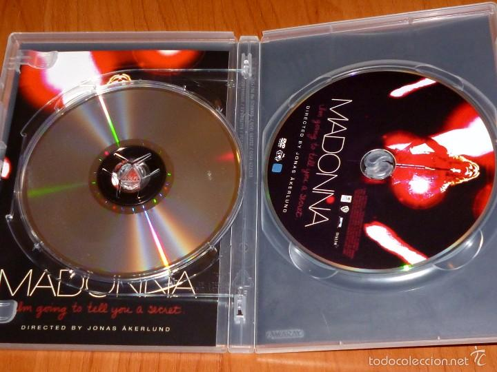 Vídeos y DVD Musicales: MADONNA / I´m going to tell you a secret / Voy a contarte un secreto + CD - Foto 4 - 58828041