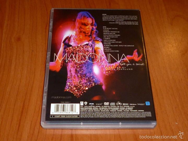 Vídeos y DVD Musicales: MADONNA / I´m going to tell you a secret / Voy a contarte un secreto + CD - Foto 7 - 58828041
