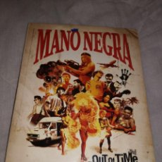 Vídeos y DVD Musicales: MANO NEGRA OUT OF TIME 2 DVD MANU CHAO, NUEVO. Lote 59082730