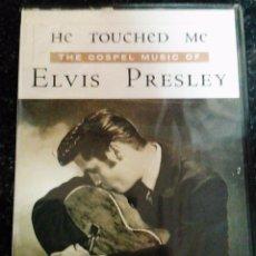 Vídeos y DVD Musicales: THE GOSPEL MUSIC OF ELVIS PRESLEY - HE TOUCHED ME - 2 DVD NUEVO PRECINTADO . Lote 59508851