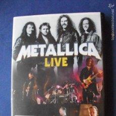 Vídeos y DVD Musicales: METALICA LIVE DVD 180 MINUTOS NUEVO¡¡ PEPETO. Lote 59942303