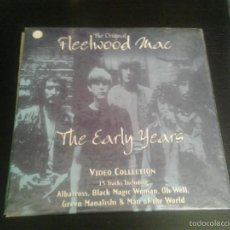 Vídeos y DVD Musicales: FLEETWOOD MAC ?– THE EARLY YEARS LASERDISC IMAGE ENTERTAINMENT ID3231CA RARE. Lote 60116923