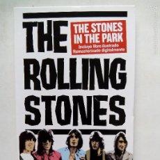Vídeos y DVD Musicales: THE ROLLING STONES. THE STONES IN THE PARK. DVD GRANADA P4D00338. ESPAÑA 2007. REMASTERIZADO.. Lote 60174551
