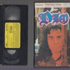 Vídeos y DVD Musicales: VHS , DIO- LIVE IN CONCERT - SPECTRUM 1984. Lote 60364811