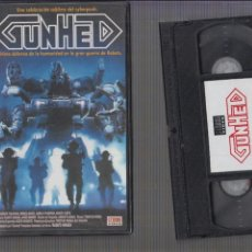 Vídeos y DVD Musicales: VHS , GUNHED SCI-FI JAPONES AÑOS 80. Lote 60365595