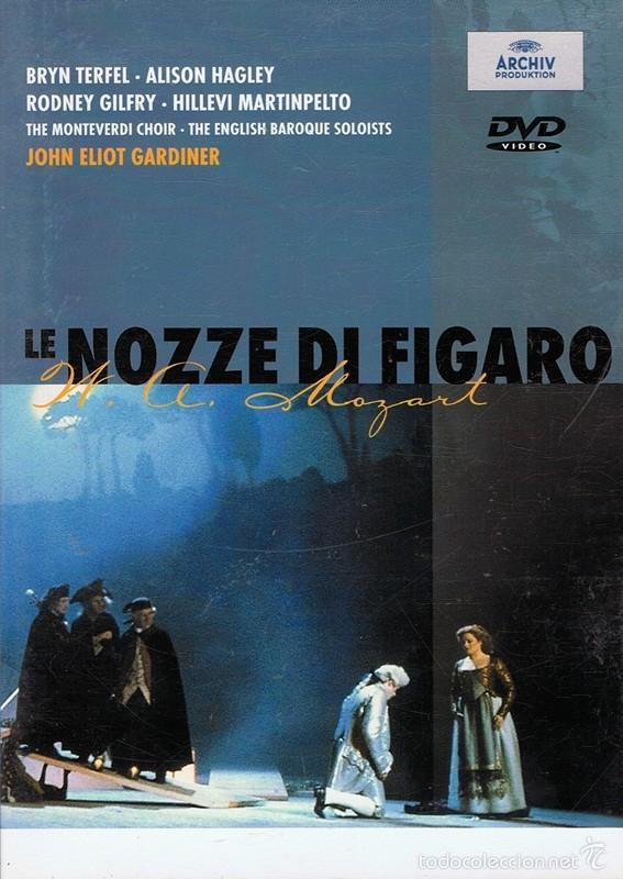 DVD LE NOZZE DI FIGARO W.A.MOZART (Música - Videos y DVD Musicales)