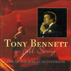 Vídeos y DVD Musicales: DVD TONY BENNETT ¨IN FULL SWING¨. Lote 61400907