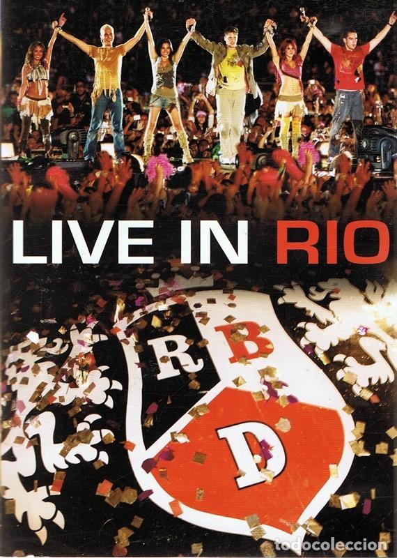 DVD RBD ¨LIVE IN RIO¨ (Música - Videos y DVD Musicales)