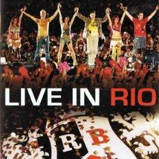 Vídeos y DVD Musicales: DVD RBD ¨LIVE IN RIO¨ . Lote 61471275