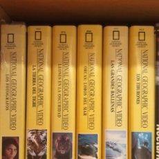 Vídeos y DVD Musicales: DOCUMENTALES NATIONAL GEOGRAPHIC, VIDEOS VHS. Lote 61508042