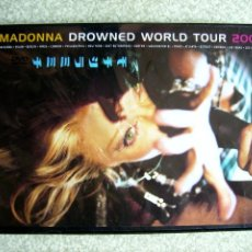 Vídeos y DVD Musicales: MADONNA.DROWNED WORLD TOUR 2001. Lote 61736876