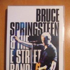 Vídeos y DVD Musicales: BRUCE SPRINGSTEEN & THE E STREET BAND. LIVE IN NEW YORK CITY. DVD DEL CONCIERTO. 2 DISCOS. . Lote 62577896