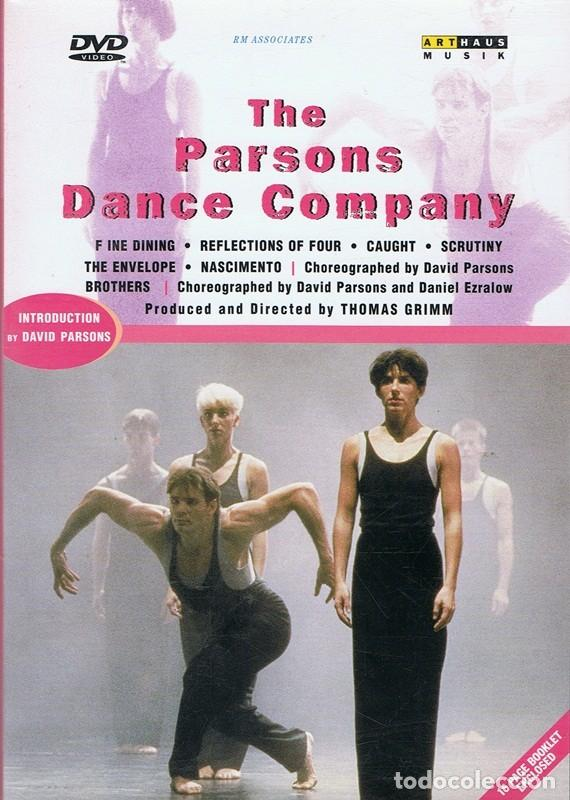 DVD THE PARSONS DANCE COMPANY (Música - Videos y DVD Musicales)