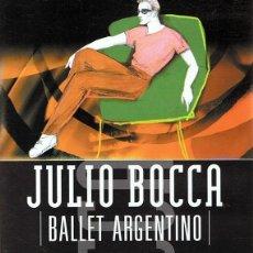 Vídeos y DVD Musicales: DVD JULIO BOCCA BALLET ARGENTINO VOL. 6. Lote 62925912