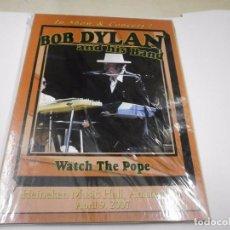 Vídeos y DVD Musicales: DVD. BOB DYLAN WATCH THE POPE DIGIPAK PRECINTADO. Lote 63010024